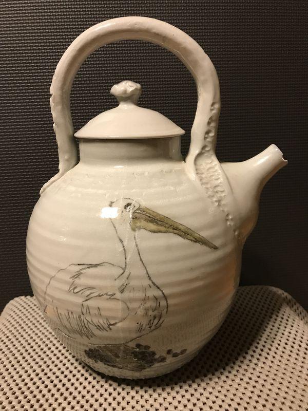 Handmade Oriental Porcelain Teapot