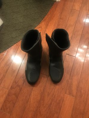 Men's BMW riding boots...minimal wear size (48) for Sale in Riverside, CA