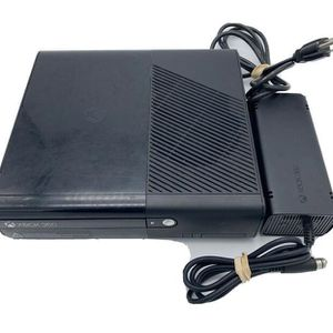 Microsoft 360 X Box E Model 1538 Black Console With Power Cord And Cables for Sale in Tempe, AZ