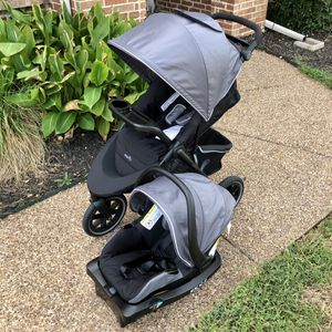 Evenflo Stroll & Jog Travel System w/ Car Seat for Sale in Azle, TX