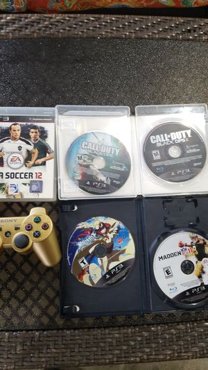 Ps3 controller and games for Sale in Dearborn, MI