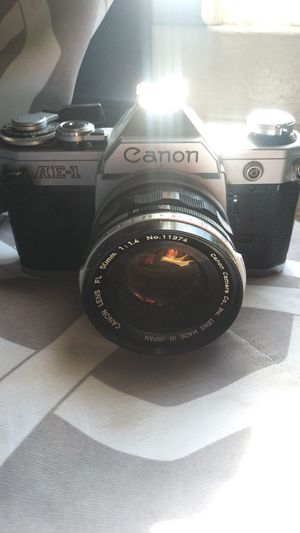 Canon AE-1 w/ 50mm 1.4 lens for Sale in Los Angeles, CA