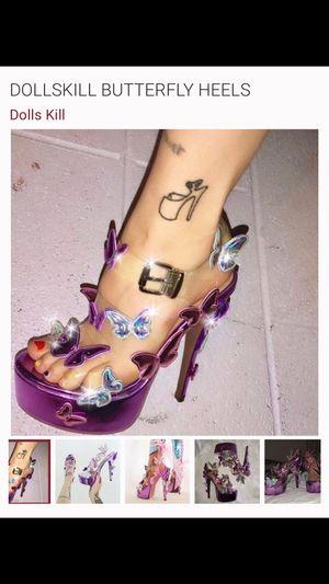 Butterfly heels for Sale in Tijuana, MX