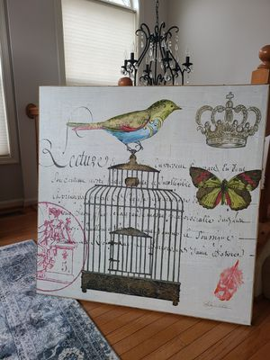 Bird cage wall art for Sale in Woodbridge, VA