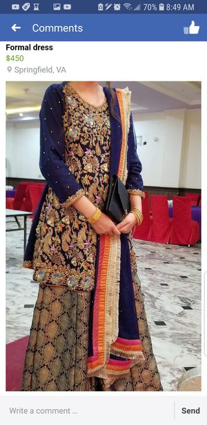 Lovely Indina Pakistani weddings or occasional collection for Sale in Annandale, VA