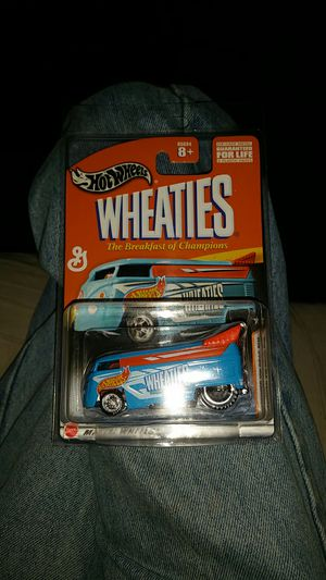 2003 Hot Wheels Wheaties VW Drag Bus - Limited Edition Premium in Protector case. for Sale in Brooklyn Center, MN