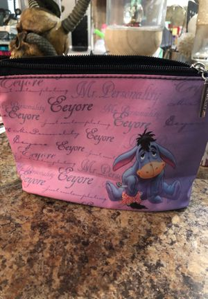Disney Eeyore small bag 8 inches wide and 5 inches high for Sale in Hialeah, FL