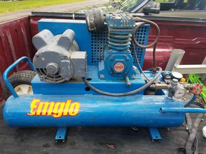 Emglo electric air compressor runs great quietwill run 5 nail guns no problem!!! for Sale in Valley View, OH