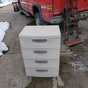 Plastic 3 Drawer storage unit for Sale in Endicott, NY
