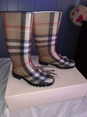 Authentic Burberry Rain Boots for Sale in San Francisco, CA
