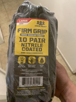 Firm grip gloves for Sale in Bakersfield, CA
