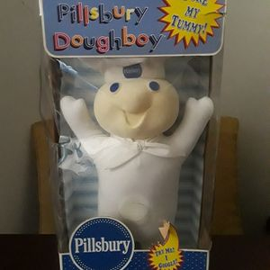 "Vintage 1997-18"" Pillsbury Doughboy Plush POKE MY TUMMY DOLL for Sale in Silver Spring, MD"