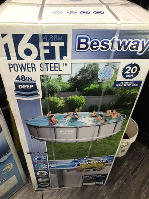 Best way swimming pool 16 ft for Sale in Riverside, CA