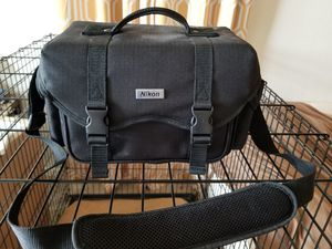 Nikon DSLR Camera Case w/shoulder strap for Sale in Lorton, VA
