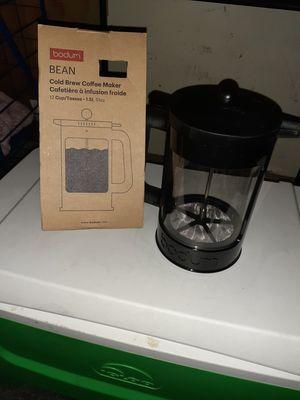 Bodum could brew coffee maker for Sale in Sacramento, CA