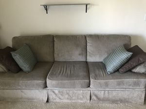 Tan sofa and matching loveseat for Sale in Bowie, MD