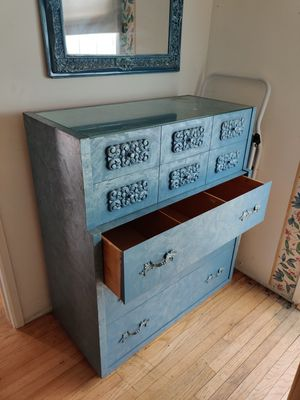 Dresser, mirror and two end tables for Sale in Monrovia, CA