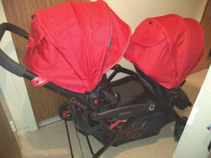 Double stroller n car seat attachement for Sale in Brooklyn, NY