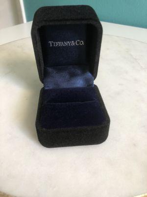 Tiffany & Co. velvet ring box for Sale in Huntington Beach, CA