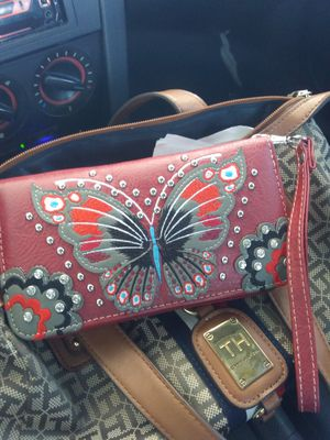 Handcrafted butterfly wallet purse for Sale in Addison, TX