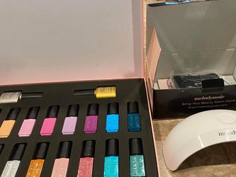 Gel Polishes 18 Colors And Nail Lamp for Sale in Fort Worth,  TX