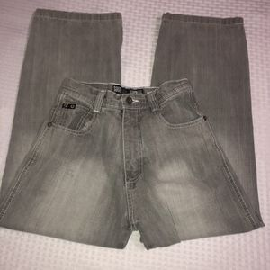 Kid's size 8 South Pole washed faded grey jeans for Sale in Saint Albans, WV