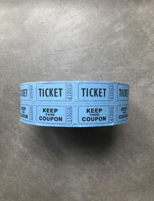 ~2K Roll of Raffle Tickets for Sale in Seattle, WA