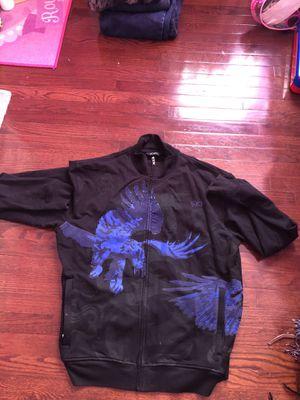 Sean jean track jacket black / blue studded labyrinth for Sale for sale  North Bergen, NJ