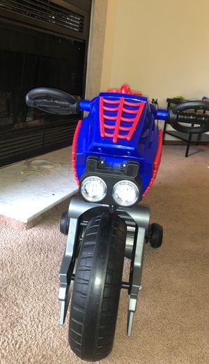 Spider-Man Motorcycle for Sale in Reynoldsburg, OH