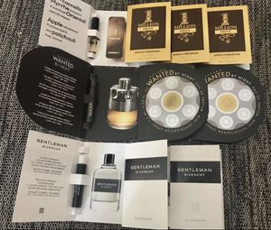 Azzaro, Paco Robanne, Givenchy sample set for Sale in Alexandria, VA