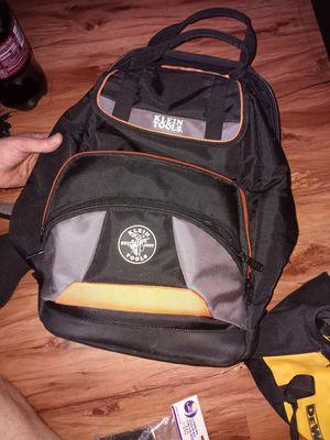 Klein tools bookbag toolbag for Sale in Gastonia, NC