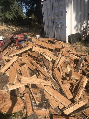 Fire wood for sale great for camping or getting ready for the winter ...delivery is available for Sale in Fairfield, CA