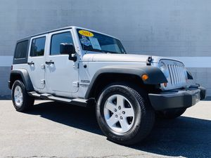 2011 JEEP WRANGLER UNLIMITED SPORT 4X4 / 1 OWNER CARFAX / HARD TOP / RUNNING BOARDS / TIRES LIKE NEW / FULLY LOADED / LIKE NEW IN AND OUT / RUNS LIKE for Sale in Ontario, CA