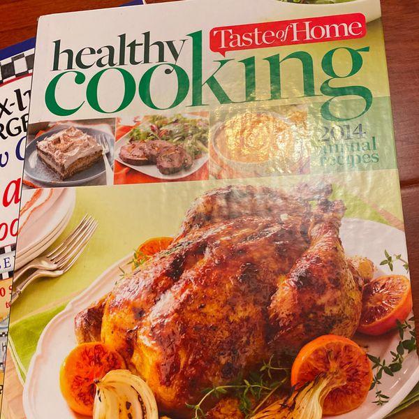 3 Healthy Living Cookbooks