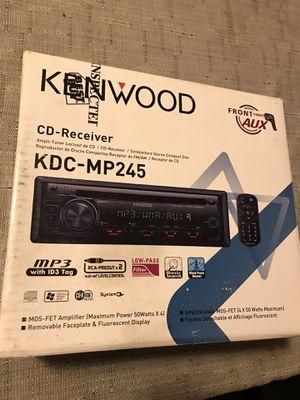 Kenwood KDC-MP245 CD Receiver for Sale in Glendale, AZ