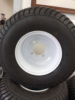 215/60-8 Pontoon Boat Trailer Tire and Rim for Sale in Plant City, FL