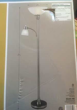 New never opened. Floor lamp for Sale in Pomona, CA