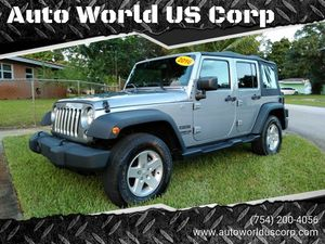 2016 Jeep Wrangler Unlimited for Sale in Plantation, FL