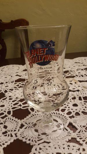 Highly collectible pilsner glass from Planet Hollywood in Orlando, for Sale in Sanford, FL