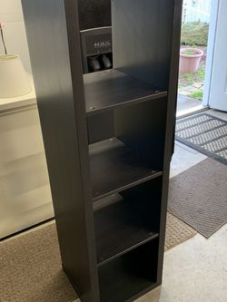 Black Brown IKEA Kallax Cube Shelving Unit for Sale in Seattle,  WA