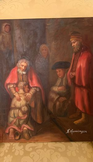 Reproduction of The Prodigal Son Painting. for Sale in Kildeer, IL