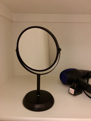 Makeup Vanity Mirror two sides maginification for Sale in San Antonio, TX
