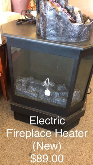 Electrical Fireplace Heater (New) for Sale in Saint Robert, MO