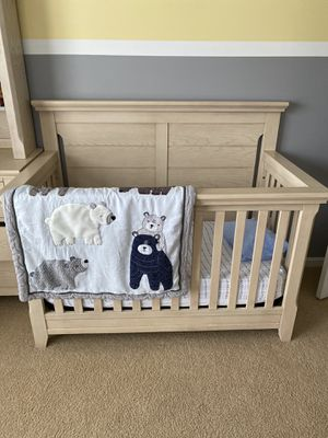 Baby crib set from Baby Cache-Overland Sandstone for Sale in Ashburn, VA