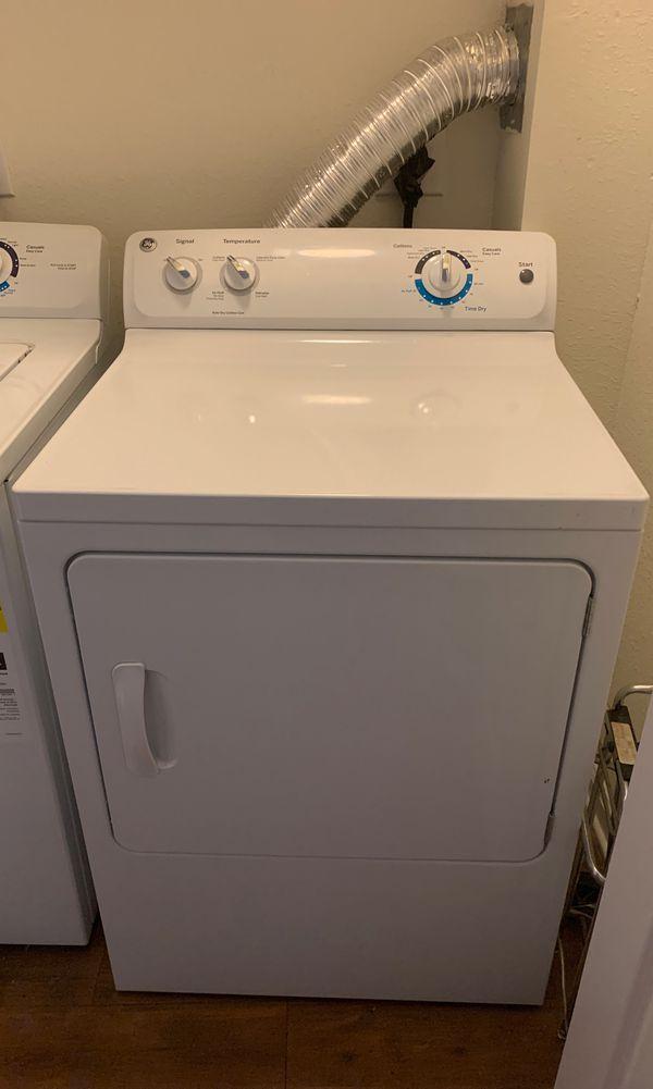 GE large load capacity washer & Dryer.