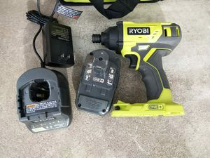 IMPACT DRILL BATTERY AND CHARGER INCLUDED for Sale in Phoenix, AZ