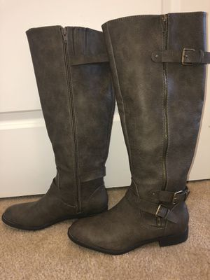 Women's Just Fab boots size 8.5 for Sale in North Andover, MA