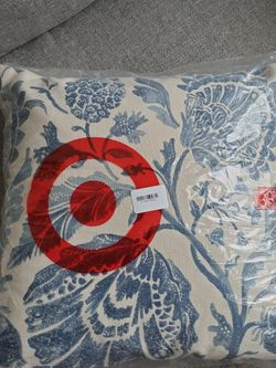 Square Floral Printed Jacobean Throw Pillow - Threshold™ for Sale in Columbia,  MD