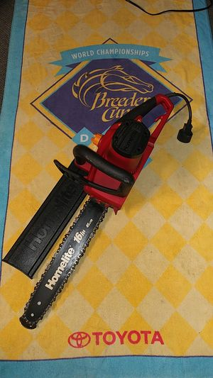 "16"" Homelite Electric Chainsaw for Sale in El Cajon, CA"