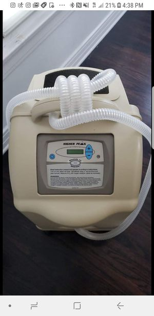 Higher Peak Mag 10 Mountain Air Generator with OxyCheq Analyzer. Condition is Used. for Sale in Los Angeles, CA